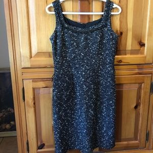 Dresses & Skirts - Donna Deanna black and white Tweed dress